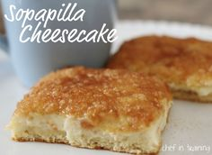 Sopapilla Cheesecake!  This is incredible and SO easy to make!