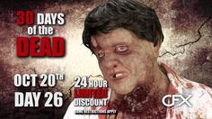 CFX Masks - 30 Days of the Dead - Day 26 Zombie