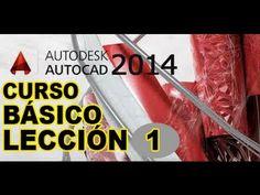 TUTORIAL AUTOCAD 2014 CURSO BÁSICO - LECCIÓN 1