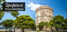 Visit Thessaloniki: Top 12 Things To Do and Must-See Attractions Top Place, The Good Place, Stuff To Do, Things To Do, Tourist Map, Greece Travel, World Heritage Sites, Cool Places To Visit, Beautiful Beaches
