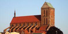 Die Nikolaikirche in Wismar. Foto: Hauku/Pixelio.de