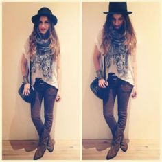 Railroad Seamed Skinny style pic on Free People