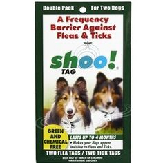 Shoo!TAG Dog Flea/Tick Double Pack ** You can get more details by clicking on the image.