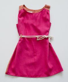 shopminikin - boy girl Tunic Dress w/ Cording, Fuschia/Orange (http://www.shopminikin.com/boy-girl-tunic-dress-w-cording-fuschia-orange/)