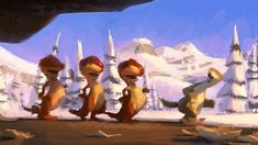 Ice Age Concept Art + Storyboard sketches /by @42concepts