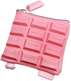 Pink Chocolate Scented Coin Purse
