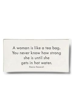 Ben's Garden 'A Woman Is Like A Tea' Trinket Tray