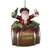 #10: Kurt Adler 4-Inch Polyresin Santa on Wine Barrel Ornament http://ift.tt/2cmJ2tB https://youtu.be/3A2NV6jAuzc