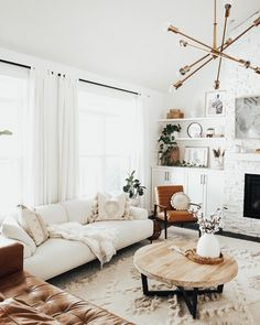 living room ideas living room chairs living room colors room ottoman living room room theaters living room decor and white living room Boho Living Room, Small Living Rooms, Living Room Sets, Living Room Decor, Living Spaces, Living Room New York, Small Living Room Design, Barn Living, Bedroom Decor