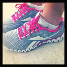 Great pink running shoes