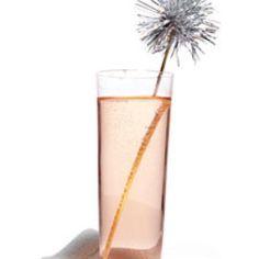 DIY Tinsel Drink Stirrer {Party Food Ideas}
