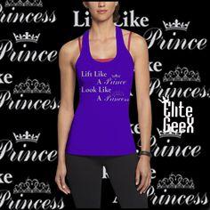"""""""Lift like a Prince, Look like a Princess""""  http://www.elitegeex.com  #legday #womens #womensclothes #gymclothes #gym #motivation #womensgym #girlsgymclothes #ladiesgymclothes #ladiestank #ladiesshirt #girlstank #girlstanktop #womensfitness #ladiesfitness #fitness #gymtank #womensgymtank #princess #royalty"""