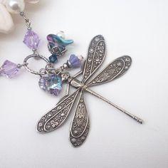 swarovski dragonfly pendant - Google Search