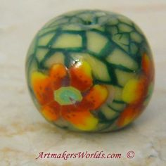 The Art Of Cane Work (Millefiore) written by WyvernDesigns I have always been intrigued by those polymer clay pieces that use thin s...