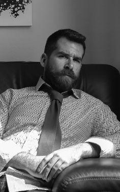 Daddy Bear. Men. Beards.