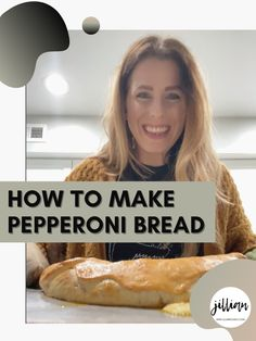 Pepperoni Bread | Easy Appetizer | Football Party Food | Super Bowl Appetizers |