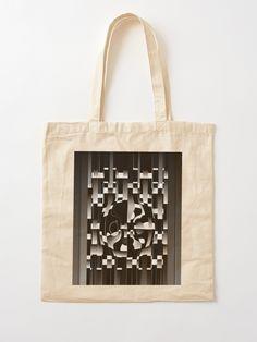 """Is This The Amazement?"" Cotton Tote Bag, print design by Asmo Turunen. #design #totebag #shoppingbag #kestokassi #kangaskassi #atcreativevisuals"