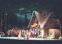 Hansel and Gretel. Sarasota Opera. Scenic design by David P. Gordon. 2001