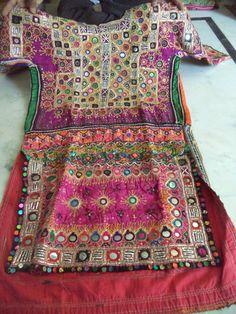 Vintage Mirror Work Dress From Indian and by jaisalmerhandloom, $99.00