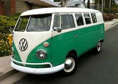 I'm going to own a VW Bus one day. Forget the mini van, when I have kids I want to drive then around in one of these. LOVE THEM <3