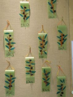 Diy Home Crafts, Tree Crafts, Crafts For Kids, Fall Projects, Projects To Try, First Fathers Day Gifts, Autumn Crafts, School Themes, Olive Tree