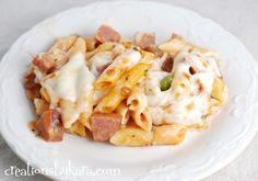 Smoked Sausage Pasta Bake  #pasta #recipe