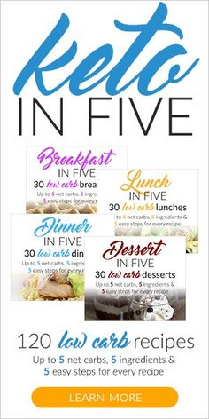 Keto in Five #loseweightfastandeasy #keto #lowcarb