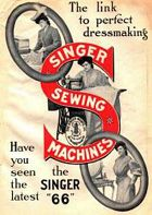 eng1020detroit [licensed for non-commercial use only] / Singer Sewing Machine Ad Images