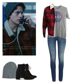 Jughead Jones - Riverdale by shadyannon on Polyvore featuring polyvore fashion style H&M Dune Neff Levi's clothing