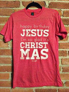 Happy birthday Jesus I'm so glad it's Christmas #christmas #tistheseason #holidays #babyjesus