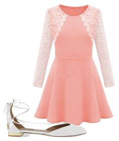 """Untitled #476"" by peterpan-lover-jdb on Polyvore featuring Aquazzura, women's clothing, women's fashion, women, female, woman, misses and juniors"