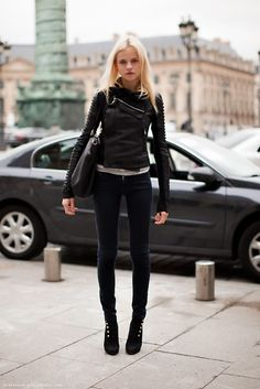 Fall Fashion - Biker Chic Will Be a Big Trend This Fall | Fab You Bliss