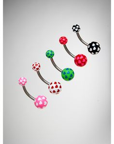 Hearts Belly Button Rings
