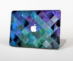 "The Multicolored Tile-Swirled Pattern Skin Set for the Apple MacBook Air 13"" from Design Skinz, INC."