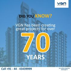 With over seven decades of experience, the VGN Group is synonymous with excellence in the real estate industry.#VGN .
