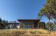 Long Dune Residence in Truro, MA, USA by Hammer Architects
