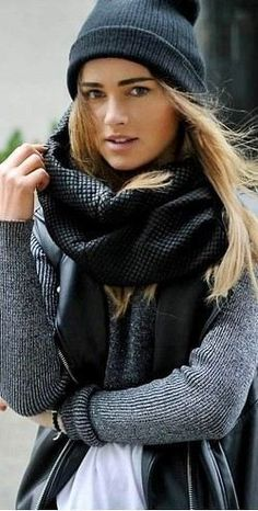 Find more inspo for ways to wear your winter scarves at www.fashionaddict.com.au