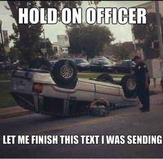 31 FUNNY POLICE MEMES TO GET A GOOD LAUGH TODAY - Policemen are considered to be very serious people. It is because of the duties they have. They can't make fun like others while on duty. We brought you another aspect of police life. We collected the … Car Jokes, Funny Car Memes, Funny Text Fails, Car Humor, Funny Texts, Funny Selfie, Selfie Quotes, Humor Humour, Driving Humor