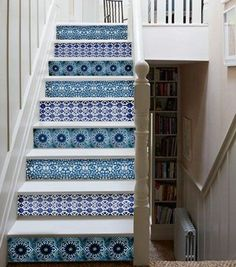 treppe decals englischer cottage vinyl treppe schritte decor aufkleber farbe und menge ihrer. Black Bedroom Furniture Sets. Home Design Ideas