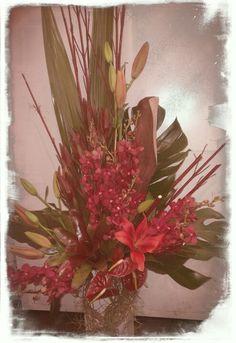 Beautiful corporate flower arrangement