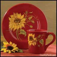 More sunflower kitchen
