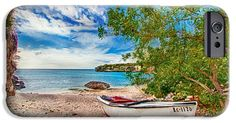 iPhone Cases - Come to Curacao iPhone Case by Nadia Sanowar