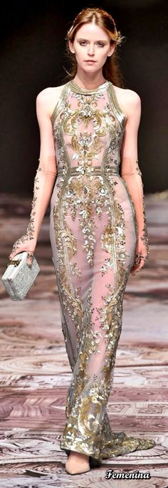 Michael Cinco Spring Summer 2017 Couture Collection - Share The Looks Fashion 2017, Couture Fashion, Runway Fashion, Fashion Beauty, Fashion Outfits, High Fashion, Marchesa, Elie Saab, Michael Cinco Couture