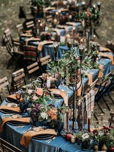 Top 9 Fall Wedding Color Schemes for Fall harvest wedding reception of … – Table pieces/reception - Wedding Table Fall Wedding Table Decor, Fall Wedding Centerpieces, Wedding Reception Tables, Wedding Table Decorations, Wedding Ideas, Copper Wedding Decor, Diy Wedding, Long Table Wedding, Wedding Venues