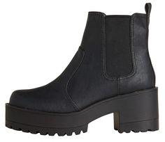 🖤 {Lipstik boots} ---- grunge, shoes