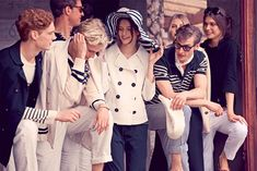 where can i get a group of friends to wear nautical themed clothes 24/7