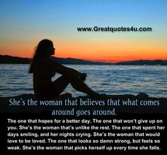 Gr8 ppl , Gr8 thoughts: She's the woman ...