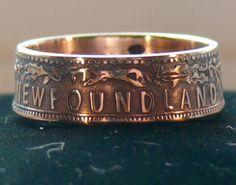 Newfoundland coin ring