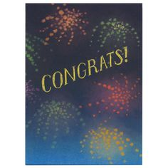 Congrats Card by Martine Workman (Little Otsu)