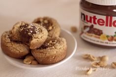 Peanut Butter Nutella Cookie Cups - Oh My!